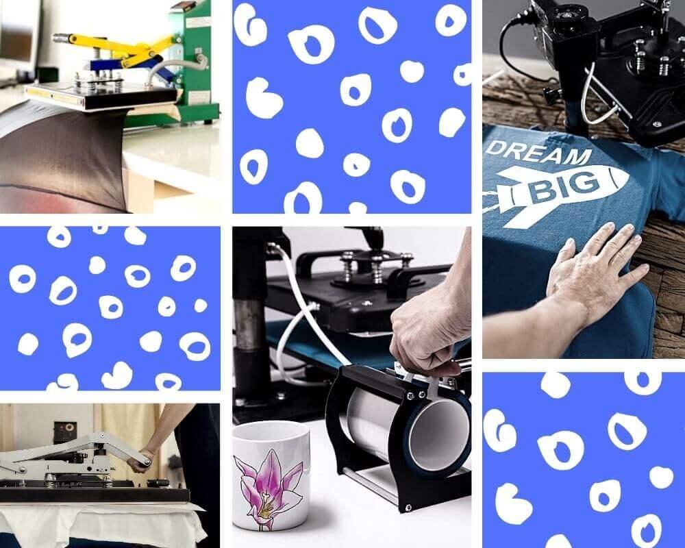 Textilpressen im Vergleich
